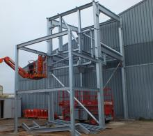 Structural steelwork fabrication